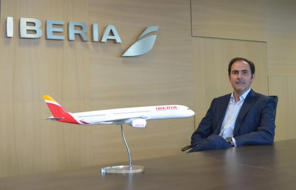 Javier Sánchez-Prieto, nouveau président exécutif d'Iberia /crédit Iberia