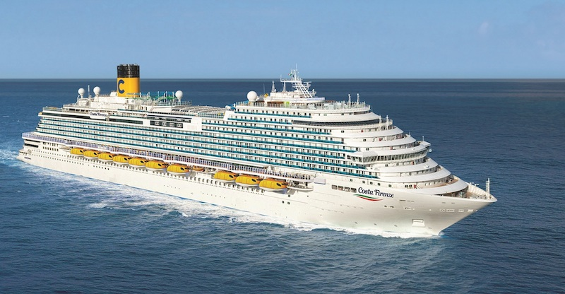 Le Costa Firenze, en construction au chantier naval Fincantieri, débutera ses croisières à partir du 27 décembre 2020 - DR : Costa Croisières