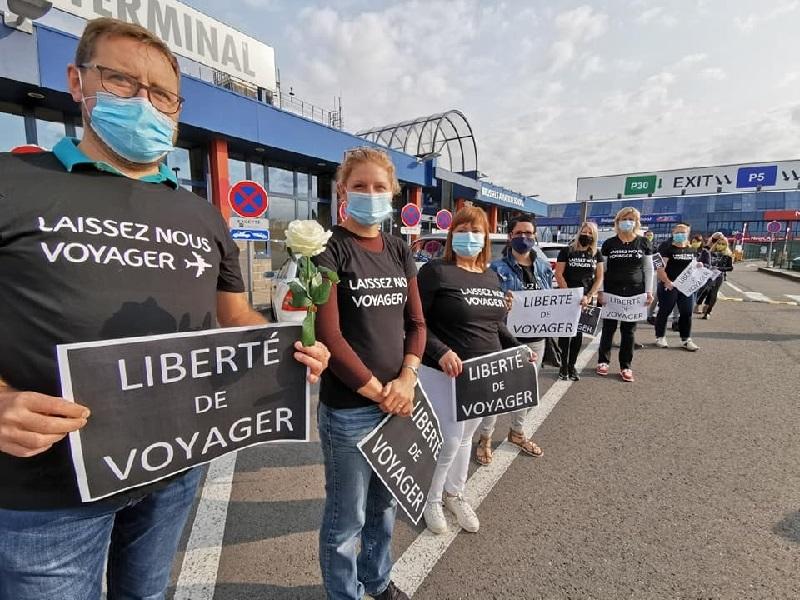 Un collectif d'agents de voyages belges vont organiser plusieurs actions - DR Facebook Paul Lorsignol