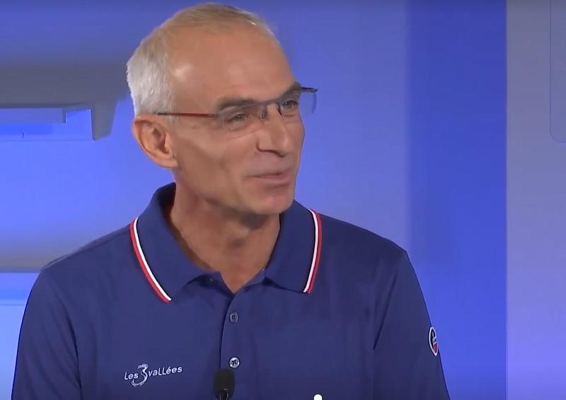Bilan et perspectives avec Olivier Desaulty, le directeur du domaine skiable des 3 vallées - Capture écran