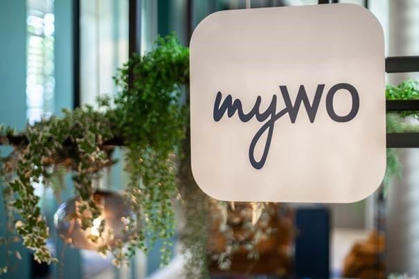 Intégrés dans les hôtels, les espaces de coworking myWO seront facilement reconnaissables - Crédit photo : myWO