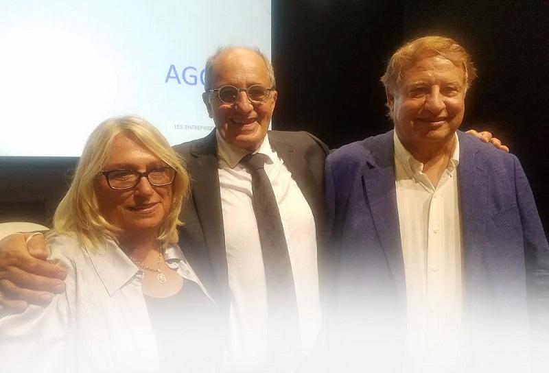 Michelle Laget-Herbaut, Jean-Pierre Mas et Mumtaz Teker - DR