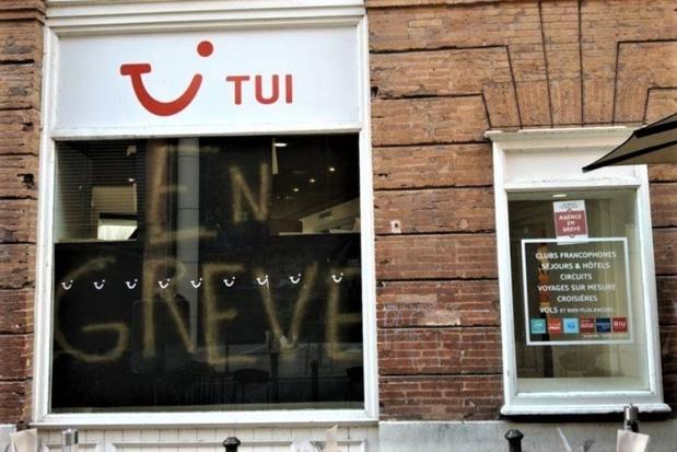 La CGT appelle à manifester les salariés de TUI France devant la Direccte 92. - Crédit CGT Tui France