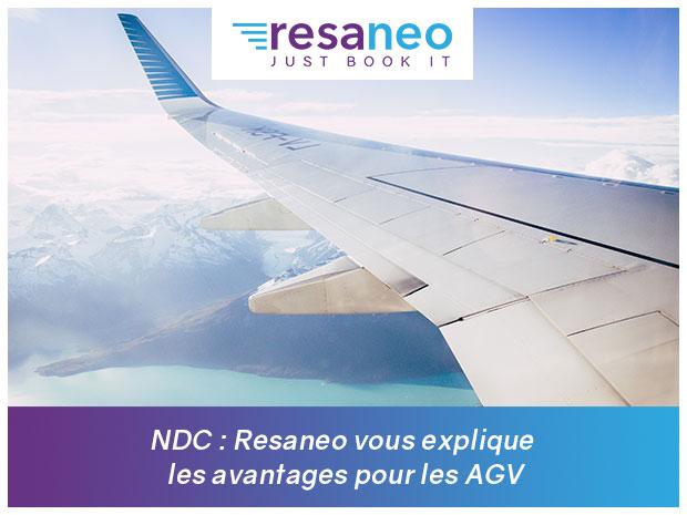 NDC : Resaneo vous explique les avantages pour les AGV