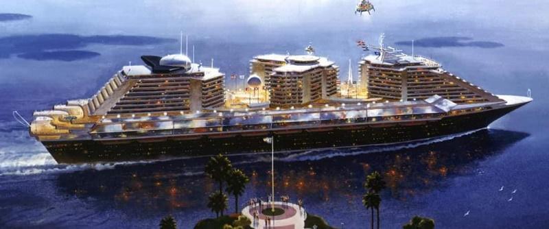 Bien que le Phoenix n'ait jamais été construit, nombre de ses concepts ont été intégrés à la navigation de croisière et, vingt ans plus tard, l'Oasis of the Seas, a vu le jour... - DR
