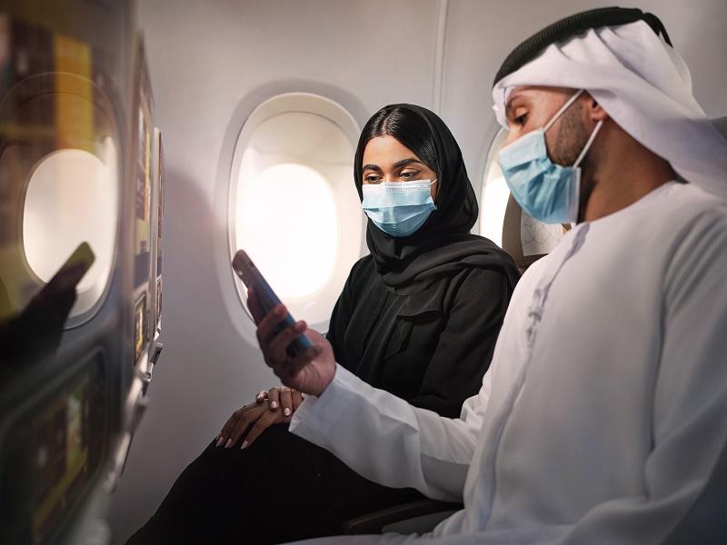 La compagnie aérienne s'est associé à Life Medical Diagnostic Center (Life Dx) pour offrir des tests entre 48 et 96 heures avant le départ, dans son réseau d'établissements de collecte aux EAU. - DR