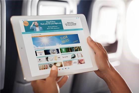 SKYdeals lance sa plateforme d'e-shopping à bord des avions Lufthansa ou Austrian Airlines - DR