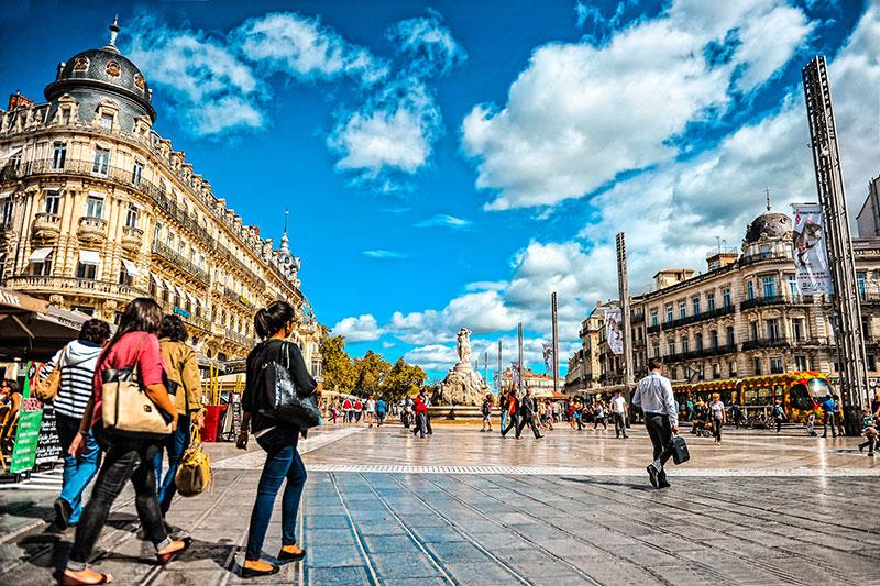 La Place de la Comédie - DR OT Montpellier