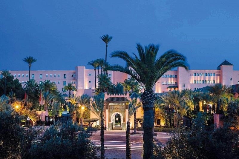 Le roof top du restaurant marocain devient un lounge où un DJ résident accompagnera les soirées des invités- DR : La Mamounia