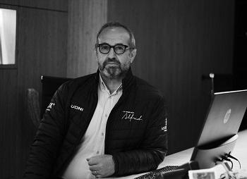 Stefano Olivotto, le gérant et associé de la nouvelle agence - Photo Claire Pupino