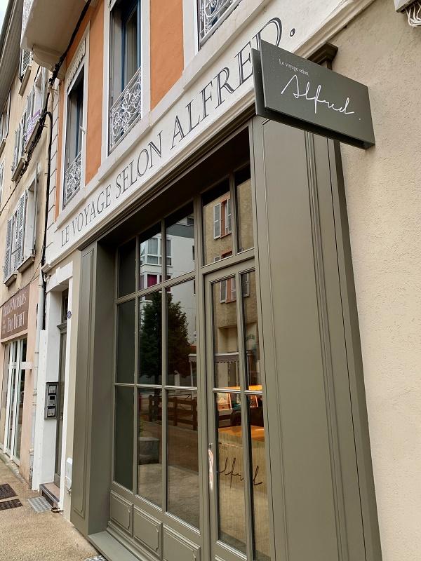 La nouvelle agence Le Voyage selon Alfred à Voiron - Photo Voyage selon Alfred