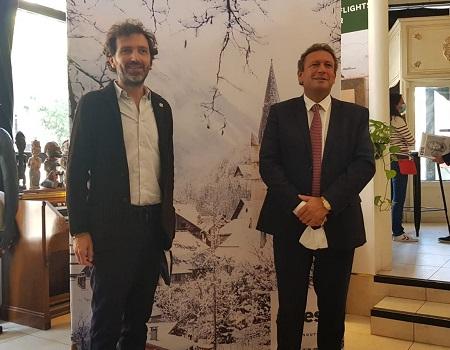 Yvan Chaix et François de Canson - Photo : CE