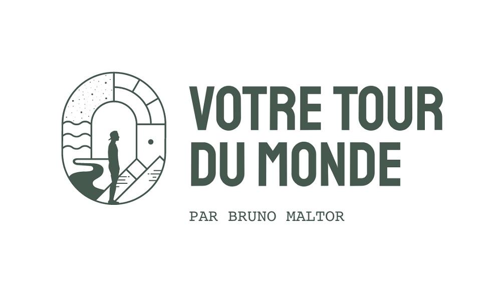 Bruno Maltor s'est doté d'une nouveau logo (à droite) et a fait une refonte de son blog - DR