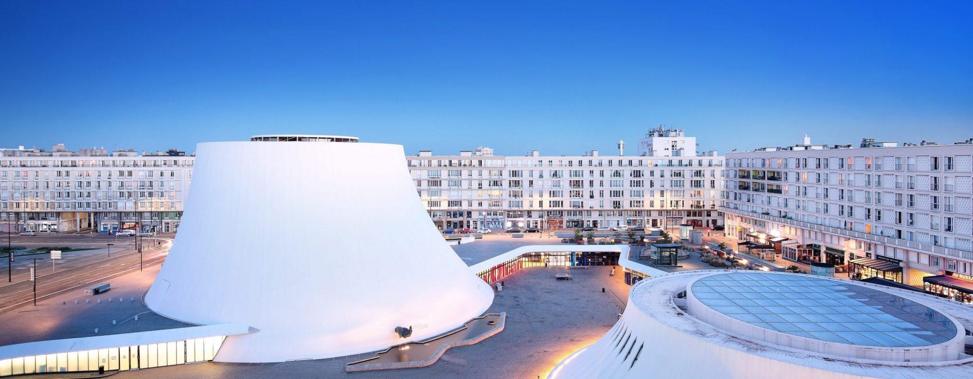 Le volcan, centre-ville du Havre-DR Office de Tourisme du Havre