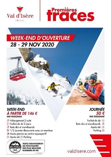 Week-end Premières Traces à Val d'Isère - DR