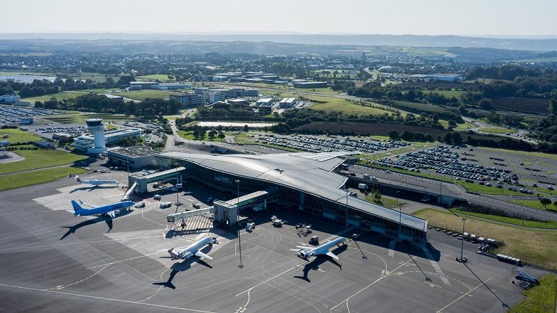 Brest sera relié à Strasbourg et Toulon pour les fêtes de fin d'année avec Air France - DR : Franck Betermin