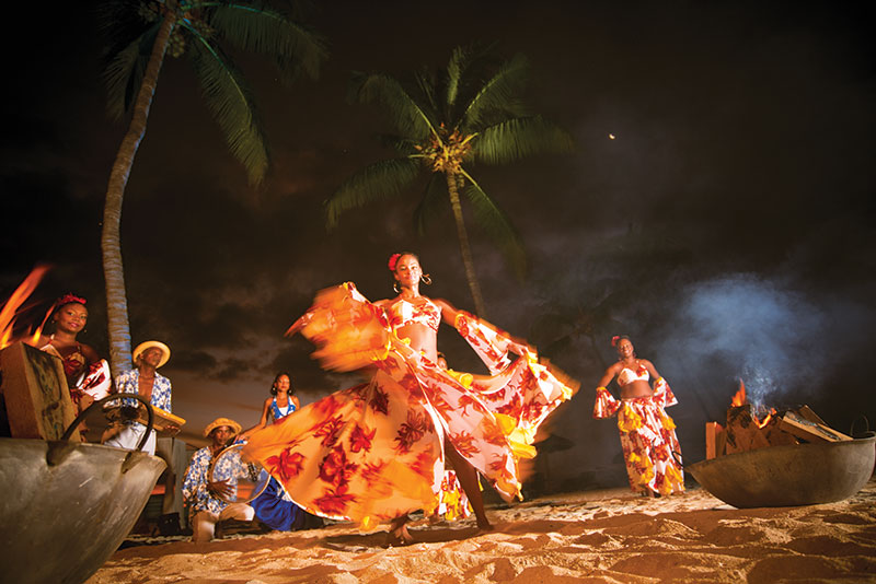 Mauricienne dansant le Sega © Duan Tiejun