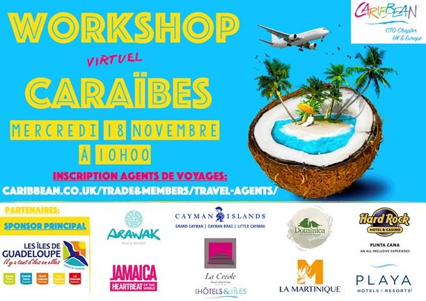 Les Caraïbes donnent rendez-vous aux agences le 18 novembre à 10h !