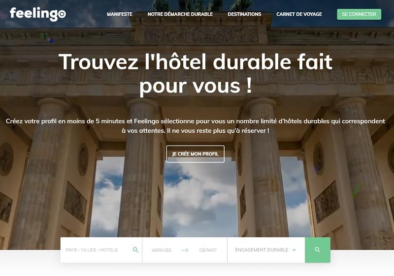 La nouvelle plateforme de réservations d'hôtels durables - DR