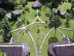 © Guyane Evasion / Vue aérienne camp Cisame