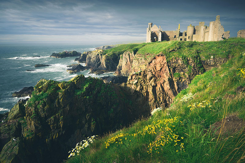 Slains Castle - DR VisitScotland - Damian Shields
