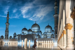Grande Mosquée Sheikh Zayed, ©Department of Culture and Tourism