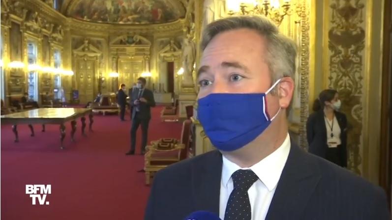 Jean-Baptiste Lemoyne au micro de BFMTV - DR