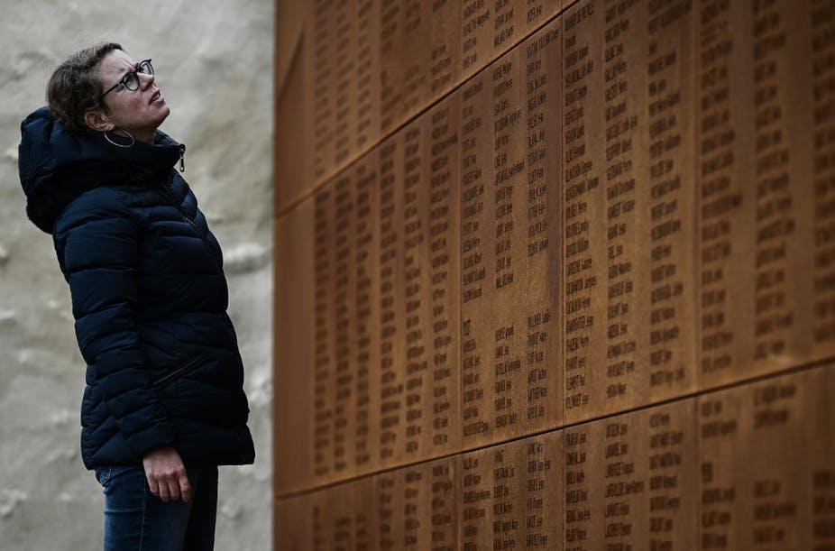 À Cadillac, en Gironde, le « cimetière des oubliés », dans lequel reposent les corps de soldats de la Première Guerre mondiale, a été inscrit en octobre 2020 en tant que monument historique. Philippe Lopez / AFP