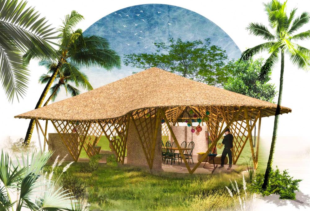 Sri Lanka : Julien Bailly va bâtir le premier hôtel du pays en bambou indigène traité