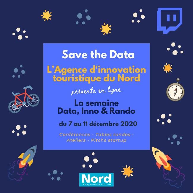 L'Agence d'innovation touristique du Nord lance la semaine Data Inno Rando