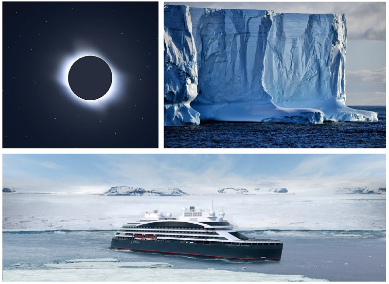 Ponant annonce une nouvelle croisière pour assister à l'éclipse solaire totale en décembre 2021