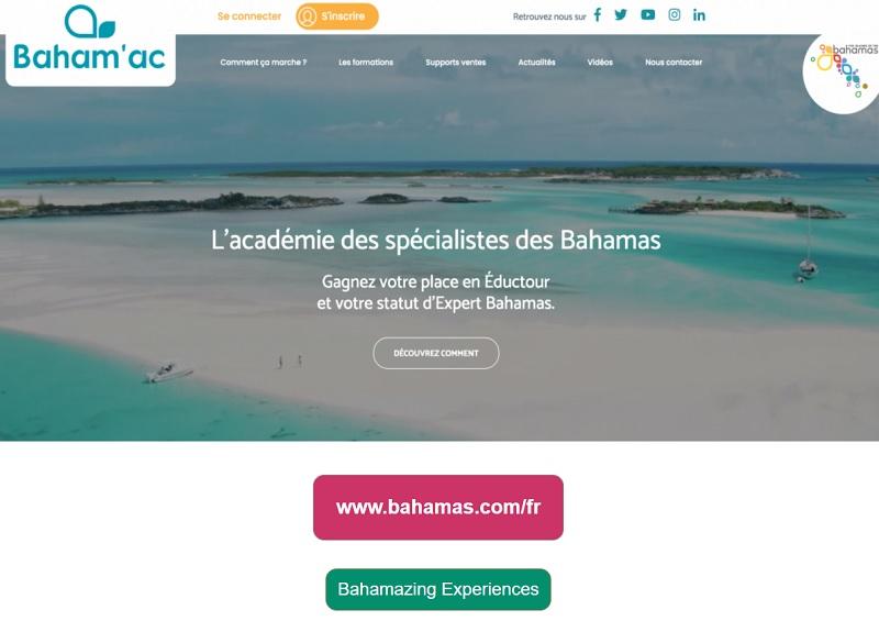 L'Office du Tourisme des Bahamas reprend ses webinars