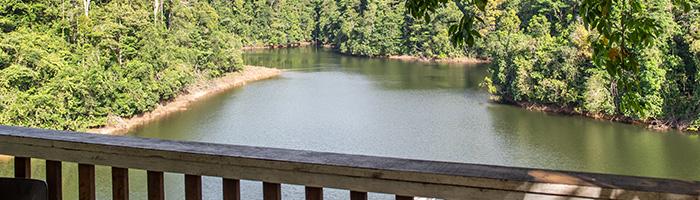 © Office de Tourisme des Savanes / Vue panoramique du Lac de Petit Saut