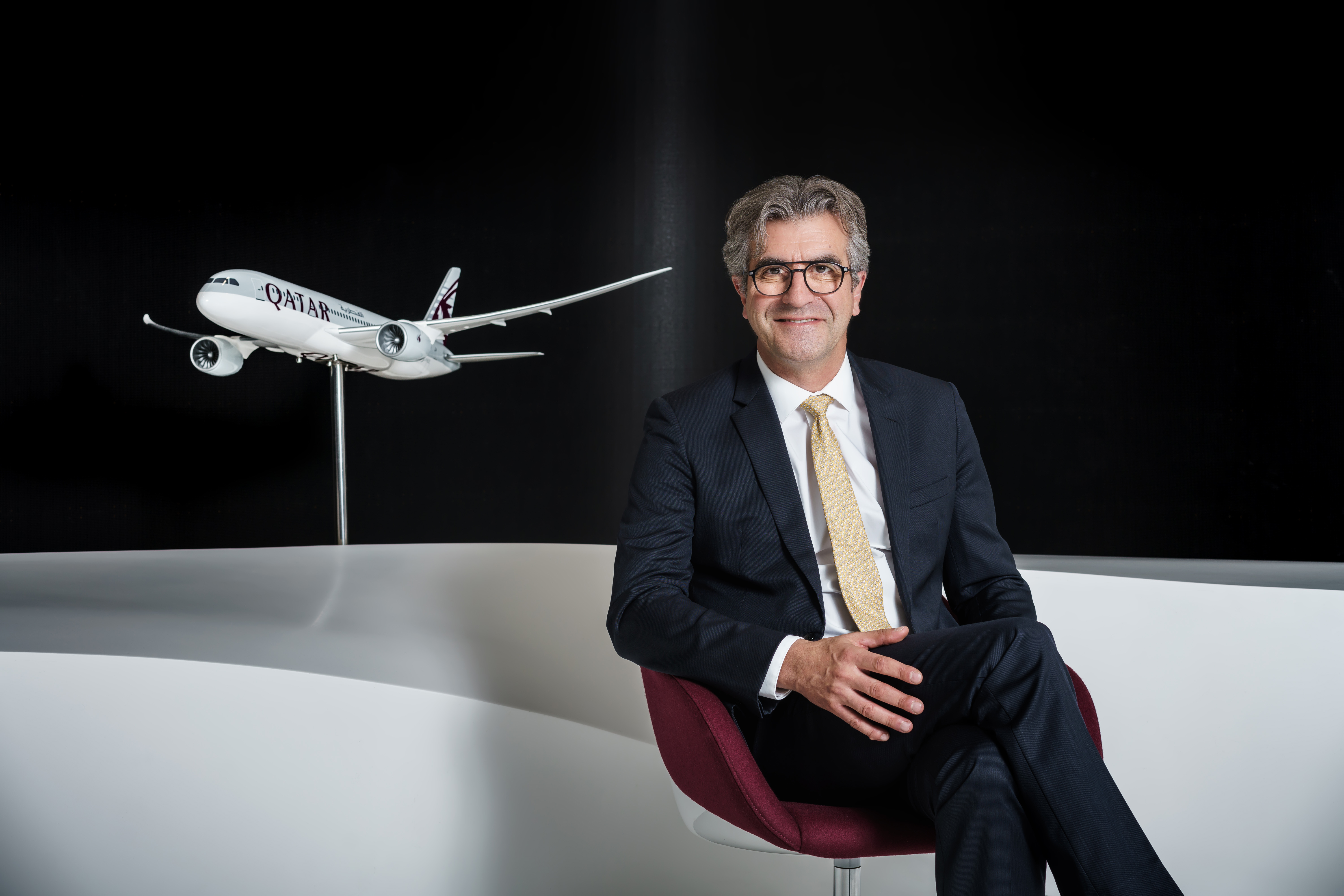 Thierry de Bailleul a rejoint Qatar Airways en juin 2020 © DR QA