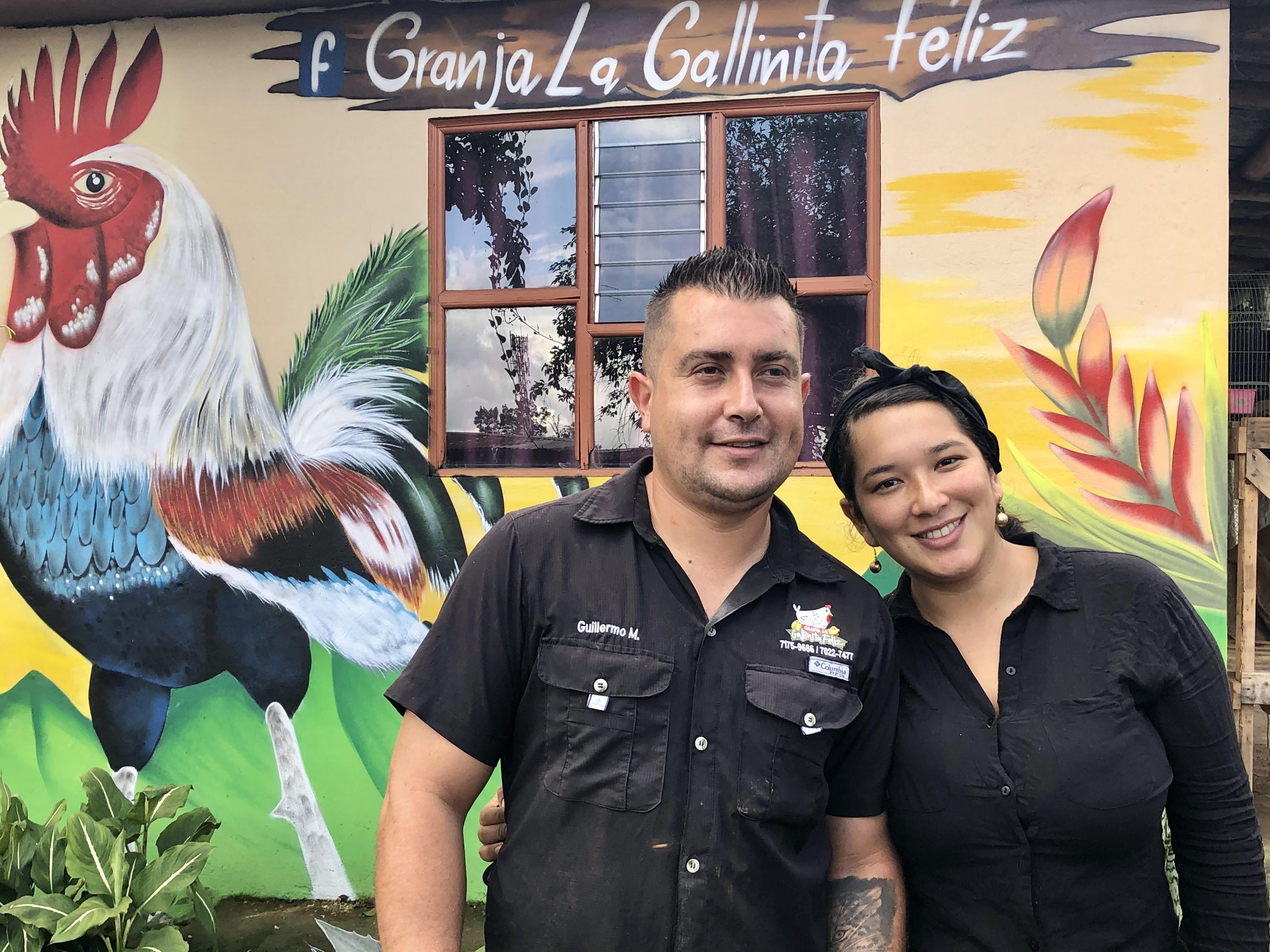 La Galinita Feliz s'est remplumée avec le tourisme et est entre de bonnes mains de bonnes mains avec Guillermo et Fabiola... /crédit JDL