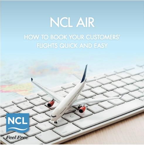 NCL Air est exclusivement dédié aux agents de voyages - DR