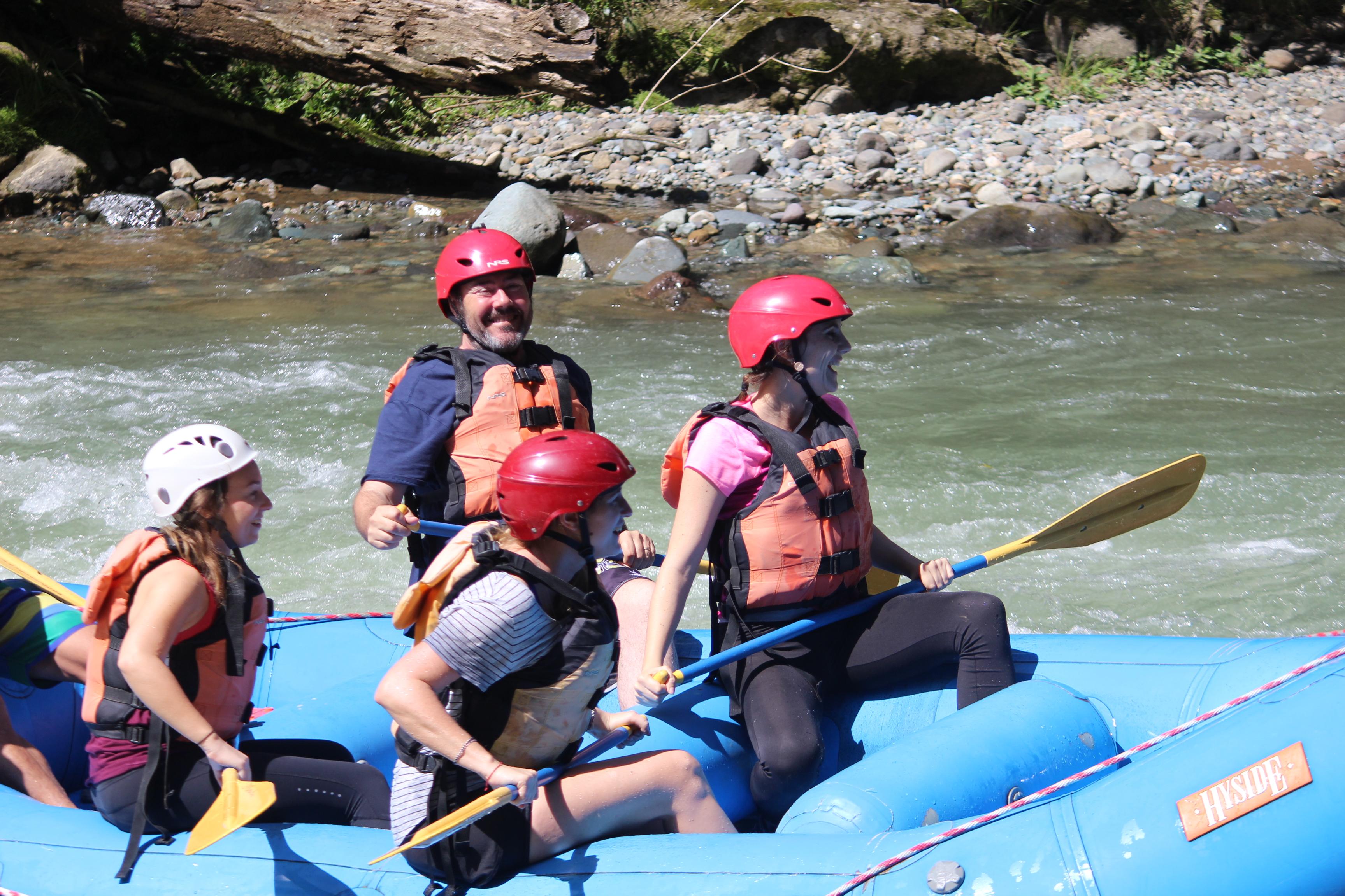 fraîcheur, adrenaline et sensations au programme dans les eaux vives du rio Pacuare