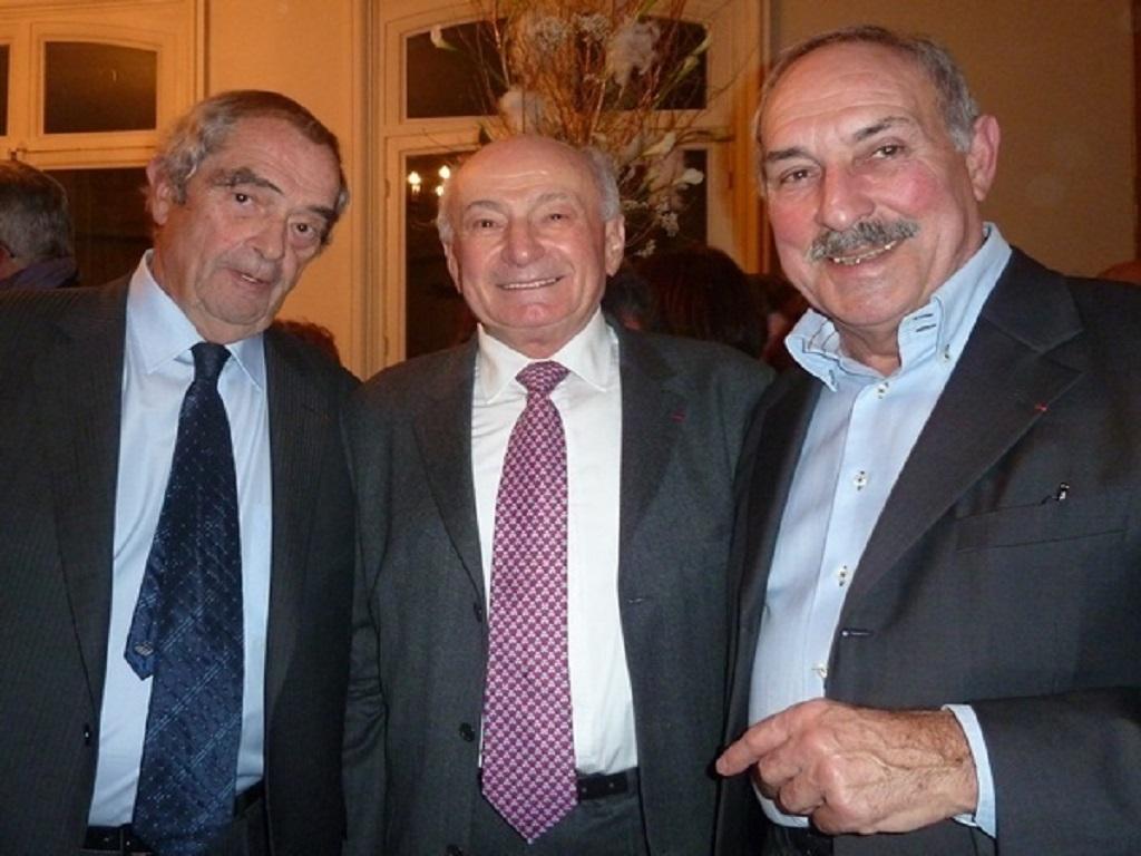 Trois présidents - Georges Colson, César Balderacchi et Jean Perrin - couvrent 25 années de la vie du syndicat national des agences de voyages - DR