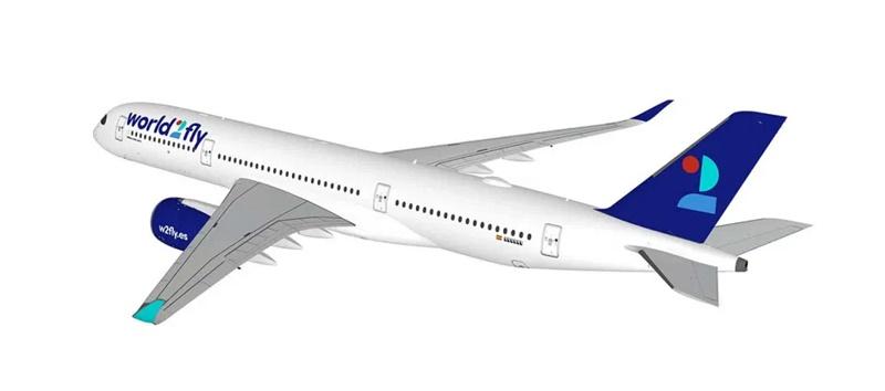 Une nouvelle compagnie va prendre son envol World 2 Fly - DR