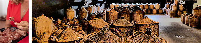 Dégustation du fameux Jambon de Luxeuil / Distillerie artisanale Paul Devoille © Marion Foehn