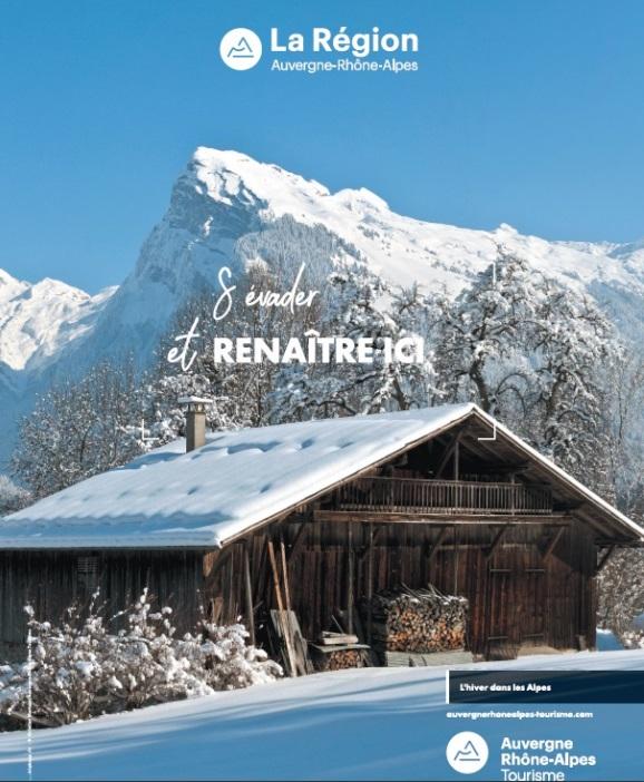 Auvergne-Rhône-Alpes Tourisme : un vaste plan de relance pour la montagne cet hiver