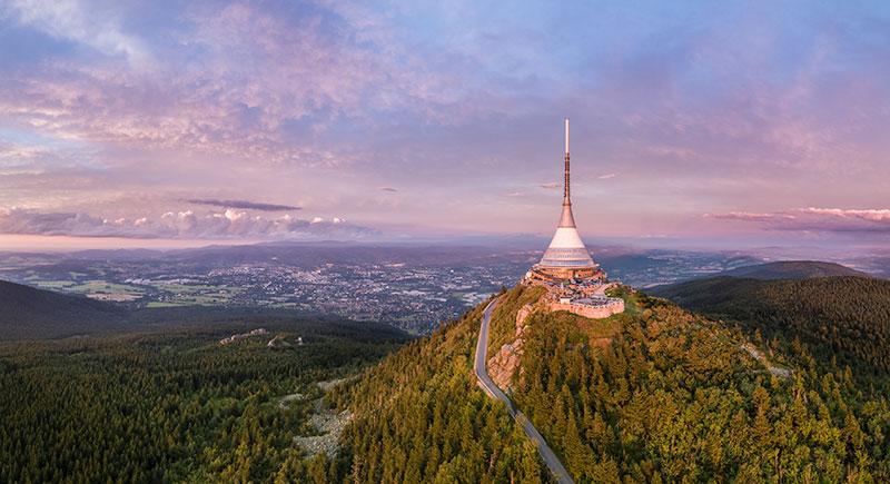 Le Mont Jested © CzechTourism
