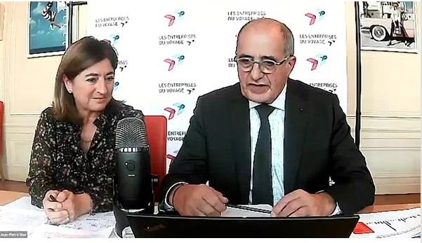 Valérie Boned et Jean-Pierre Mas, respectivement Secrétaire générale et Président des EDV - DR