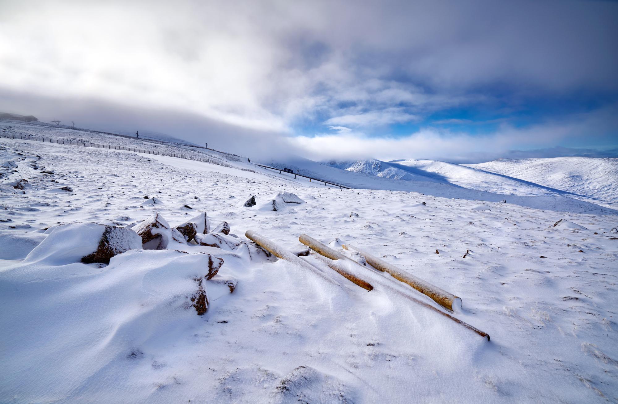 Les stations de sports d'hiver ne sont pas à la fête en cette fin d'année /crédit DepositPhoto