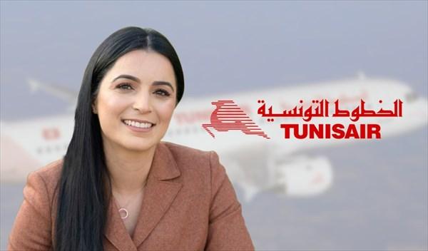 Olfa Hamdi, 35 ans, nouvelle PDG de Tunisair - DR