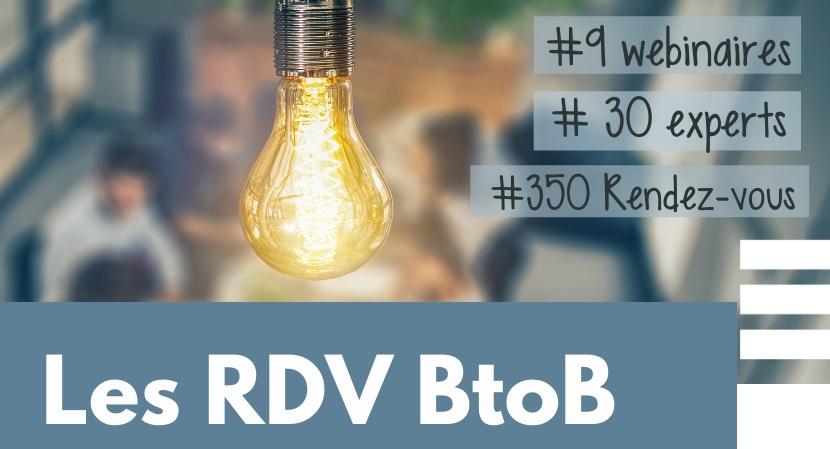Les rendez-vous BtoB auront lieu du 11 au 15 janvier 2021 - DR