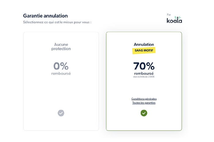 Ulysse propose ce service en partenariat avec la start-up Koala - DR