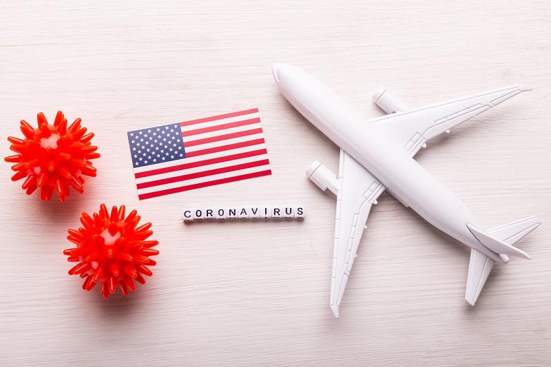 Les voyageurs arrivant aux États-Unis par avion devront prochainement présenter un test Covid-19 (illustration: Adobe Stock)