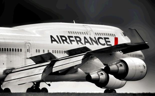 La France avait accueilli le Boeing 747 pour la première fois sous les couleurs d'Air France, le 3 juin 1970, pour un premier vol vers New York - DR : C. Hardin