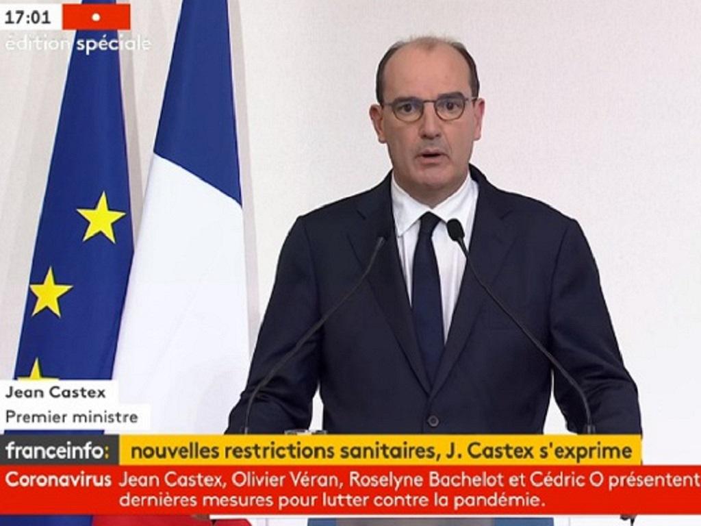Jean Castex a annoncé la mise en place d'un couvre feu national à 18h - DR